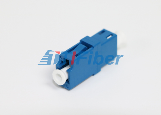 LC Multimode Fiber Optic Adapter  ROHS Standard Material Low Insertion Loss